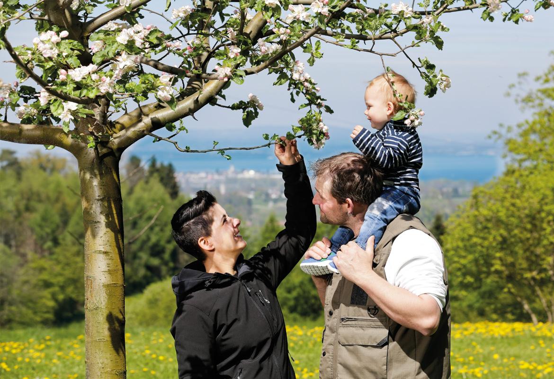Familie Brändle Lömmenschwil Essig