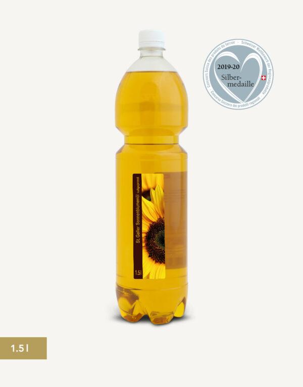 St. Galler Sonnenblumenöl 1.5l