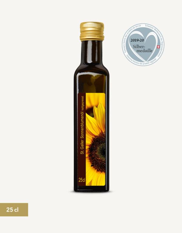 St. Galler Sonnenblumenöl 25cl