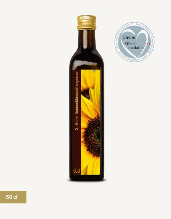St. Galler Sonnenblumenöl 50cl