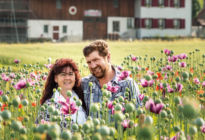 Familie Stadler in Bronschhofen